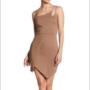 NWT Lush Ponti Asymmetrical Dress
